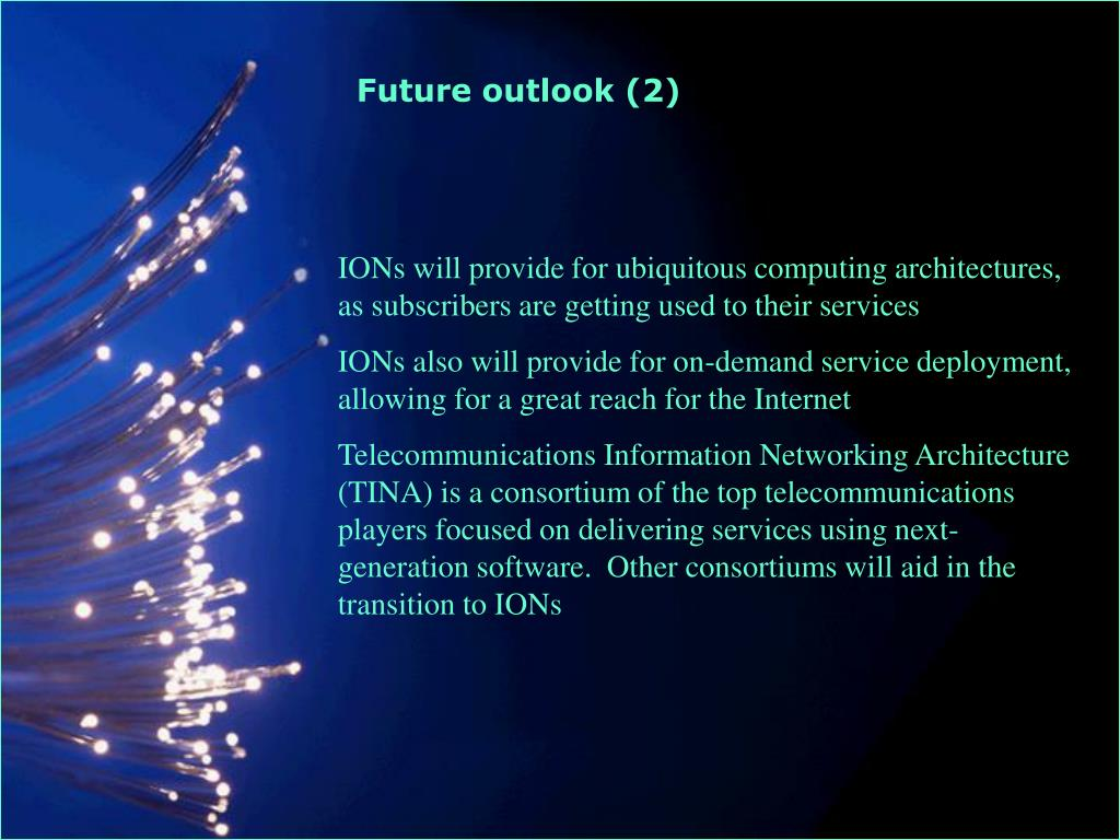 Future outlook (2)