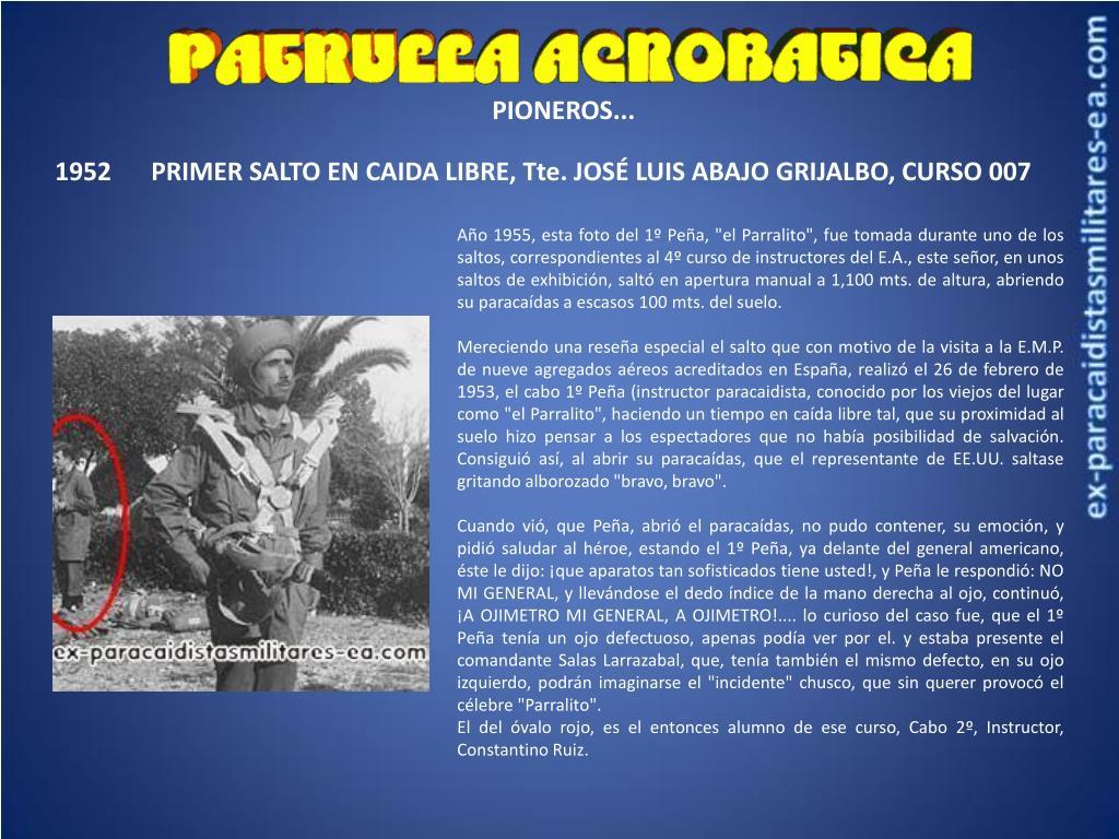 PIONEROS...