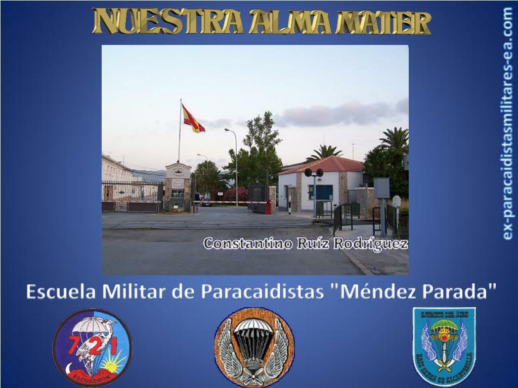 """Escuela Militar de Paracaidistas """"Méndez Parada"""""""