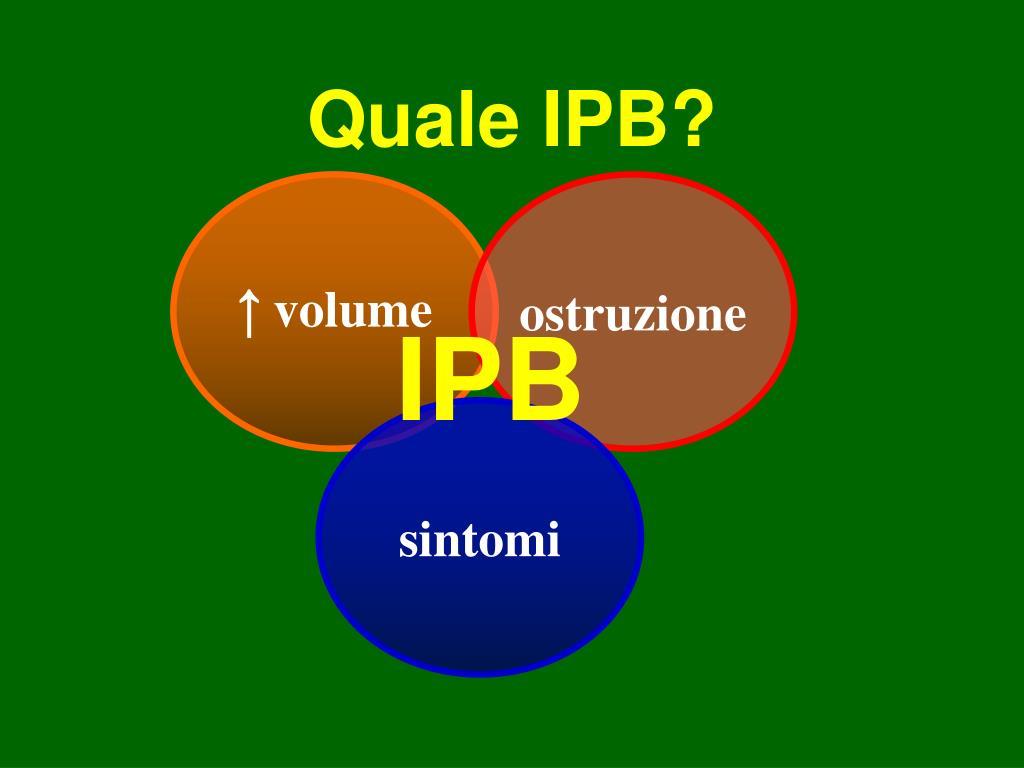 Quale IPB?