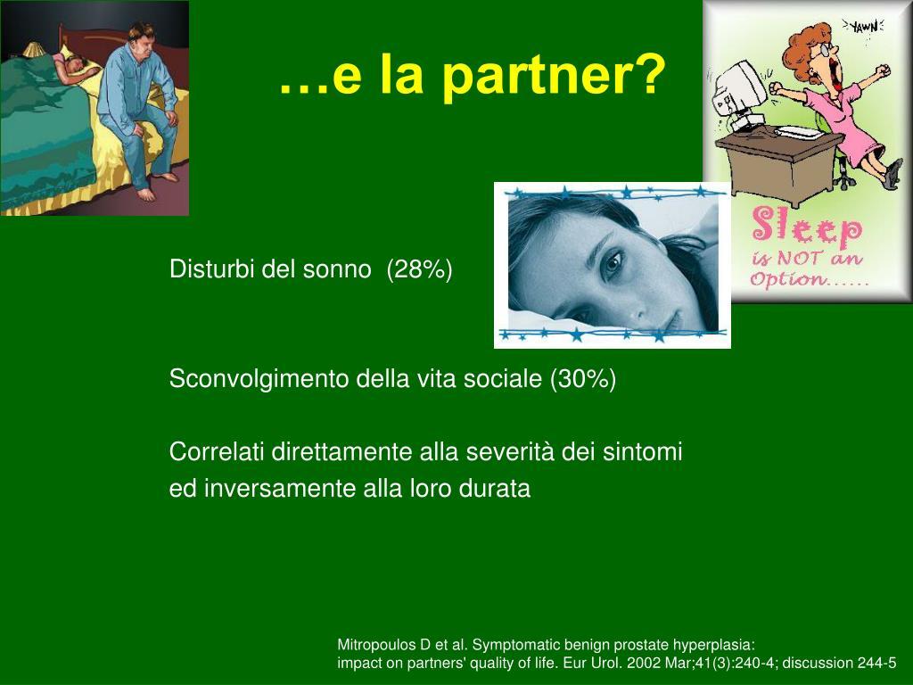 …e la partner?