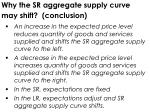 why the sr aggregate supply curve may shift conclusion