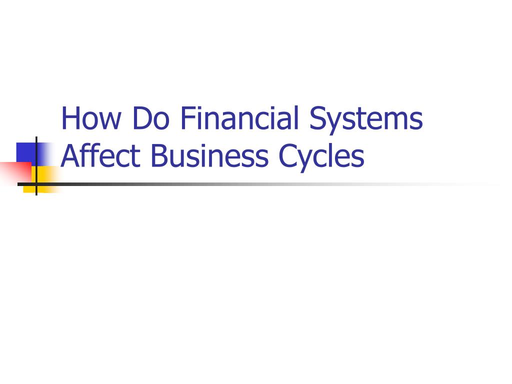 How Do Financial Systems