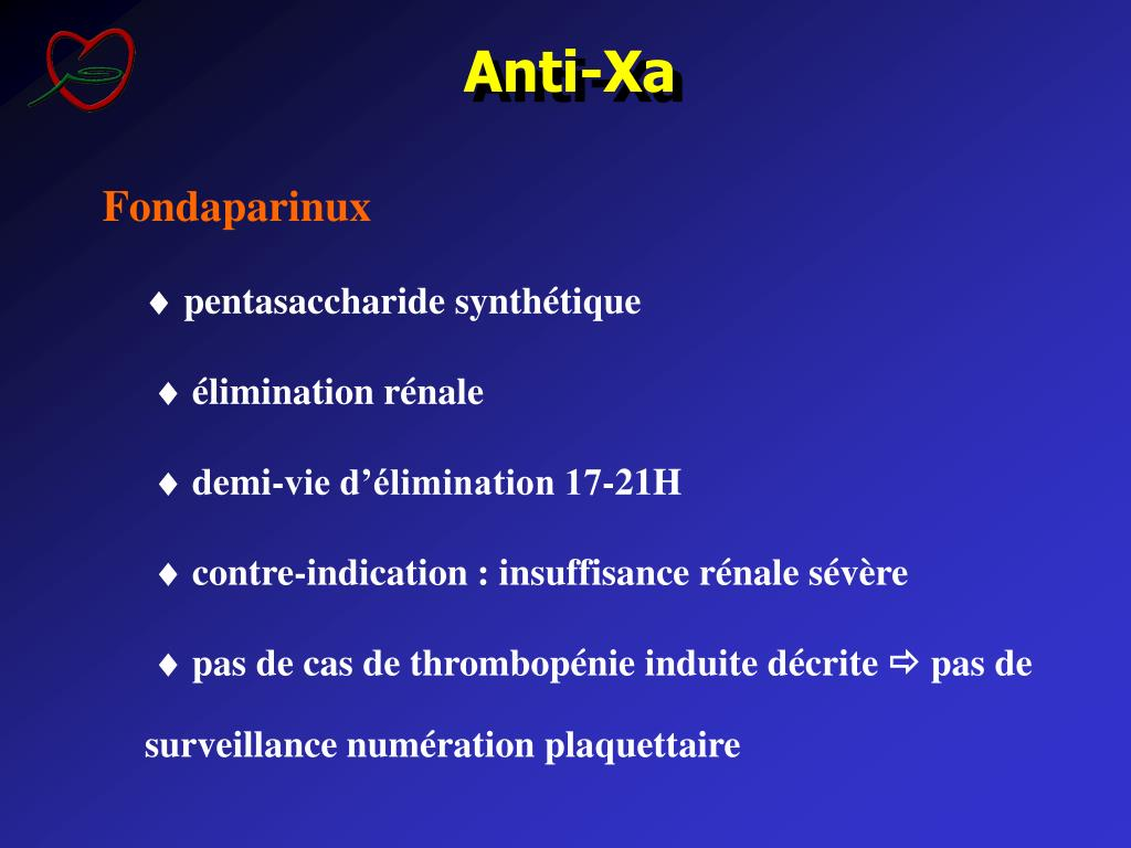 Anti-Xa