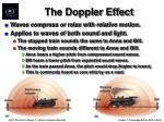 the doppler effect