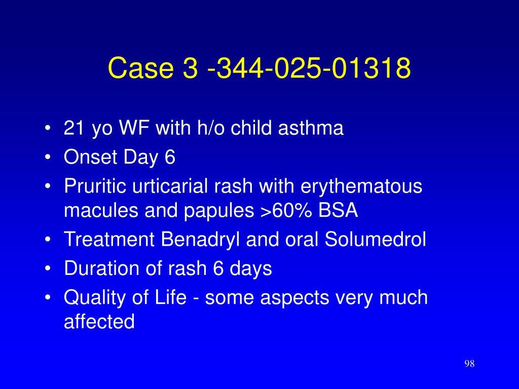 Case 3 -344-025-01318