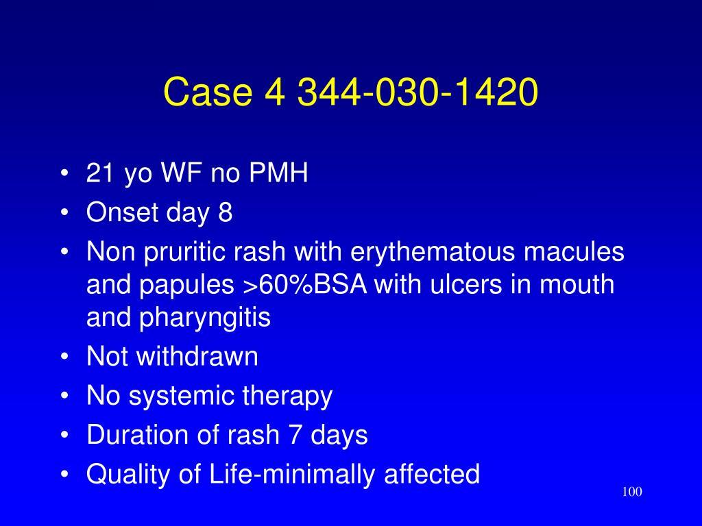 Case 4 344-030-1420