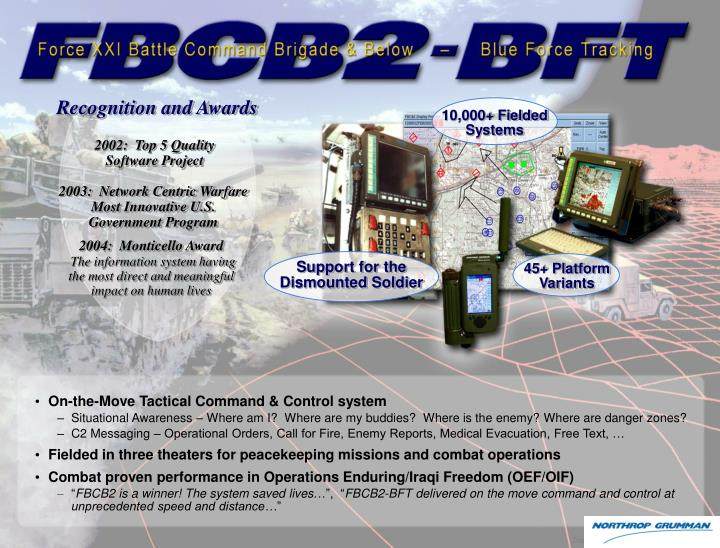 Recognition and Awards
