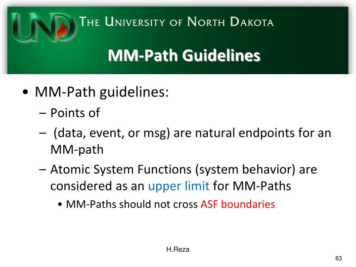 MM-Path Guidelines