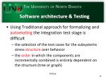 software architecture testing