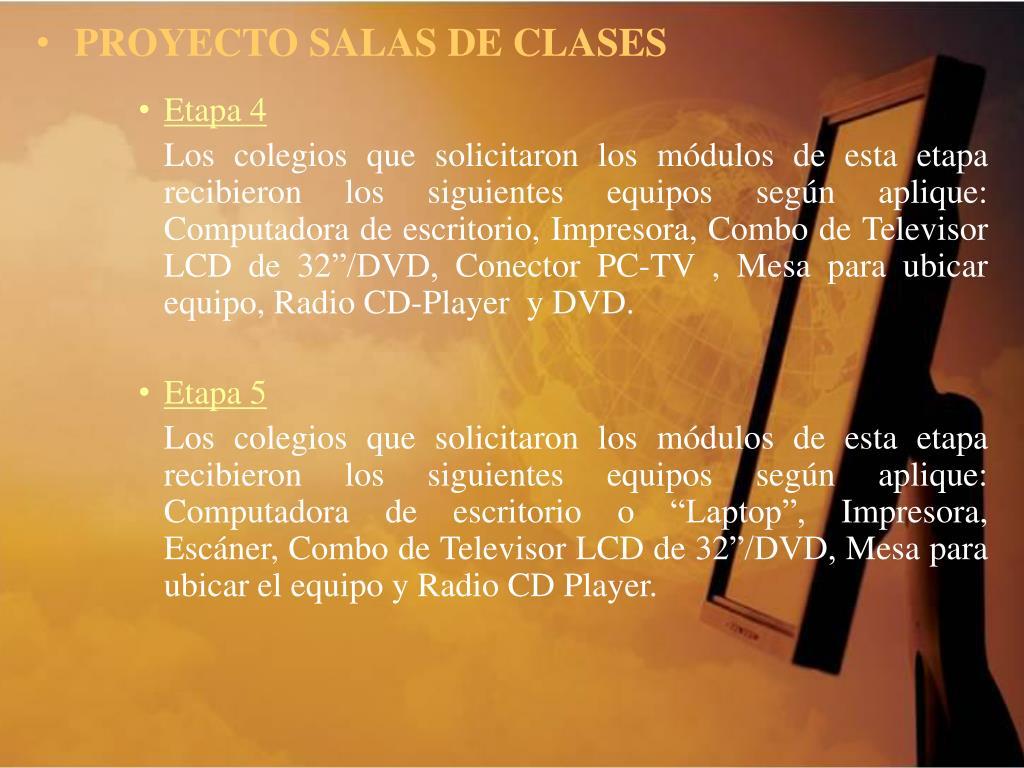 PROYECTO SALAS DE CLASES