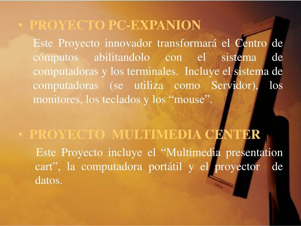 PROYECTO PC-EXPANION
