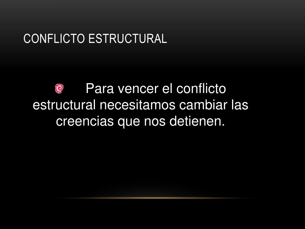 Conflicto Estructural