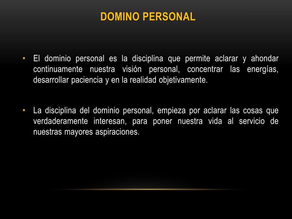 Domino Personal