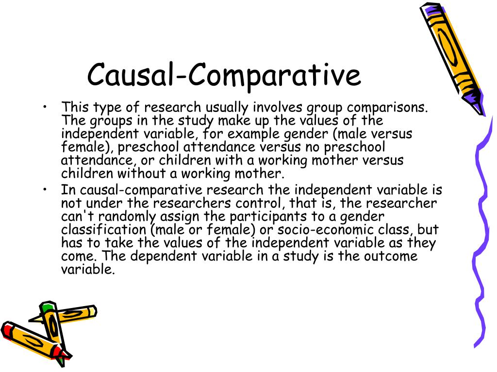 Causal-Comparative