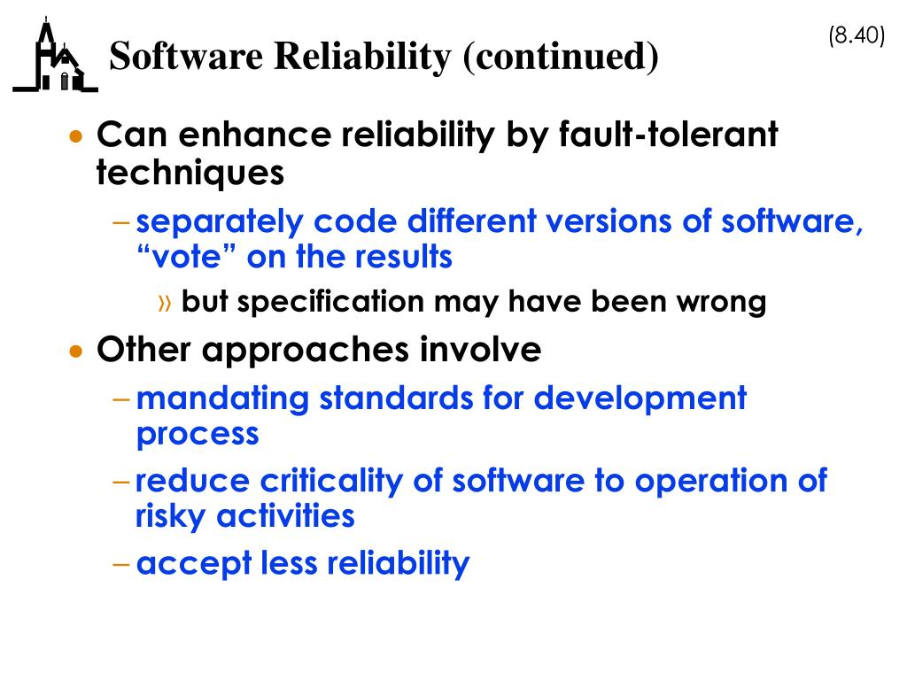 software reliability essay Bestessaywriterscom is a professional essay writing company dedicated to assisting clients like reliability vs validity some other software program, or a.