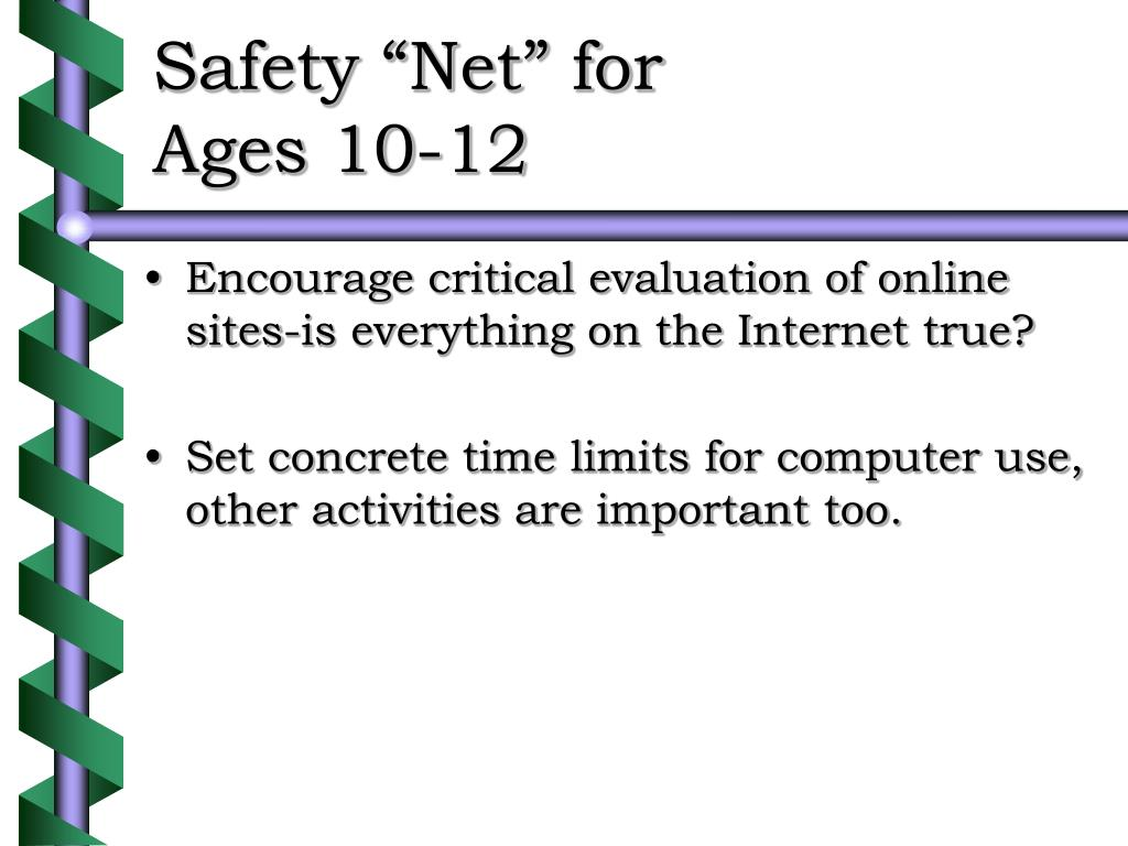 """Safety """"Net"""" for"""