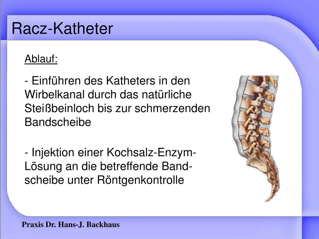 Racz-Katheter