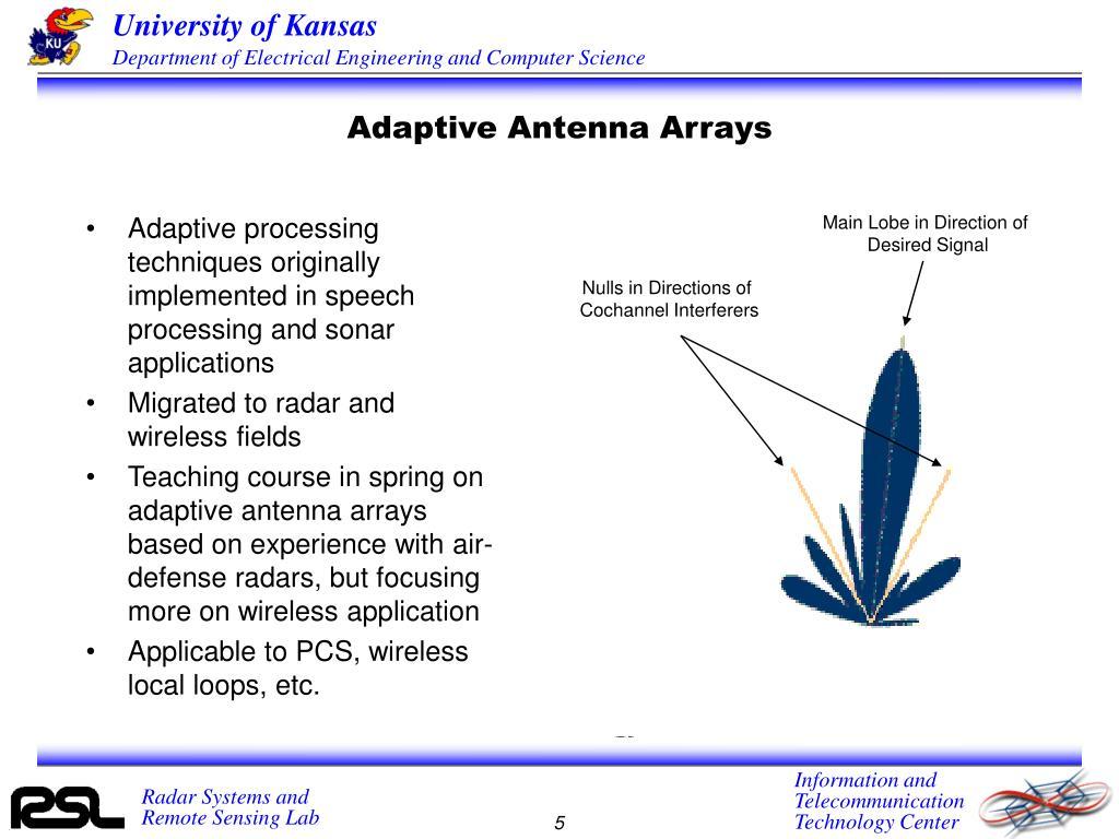 Adaptive Antenna Arrays
