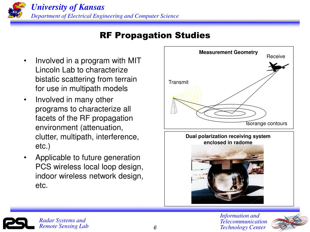 RF Propagation Studies