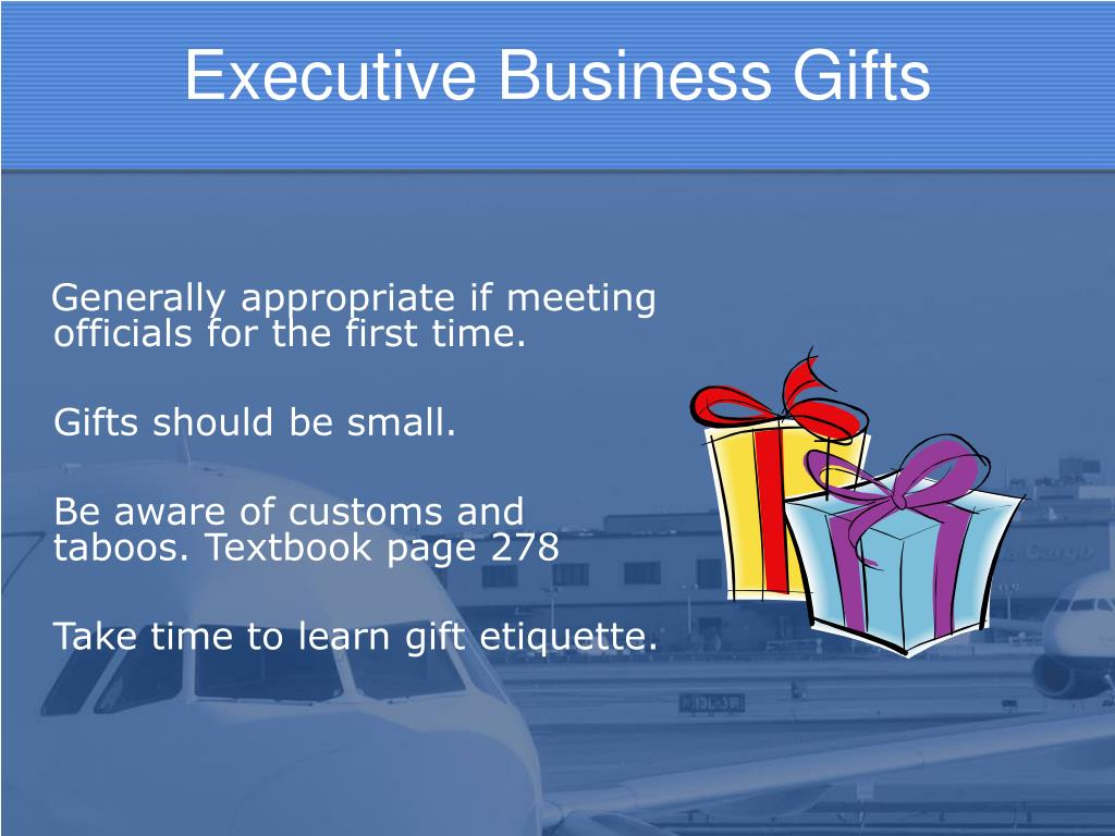 Executive Business Gifts