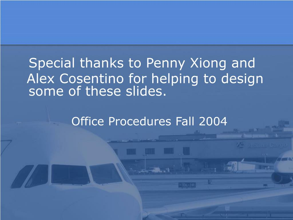 Special thanks to Penny Xiong and
