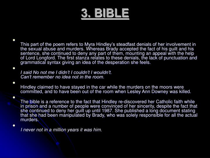 3. BIBLE