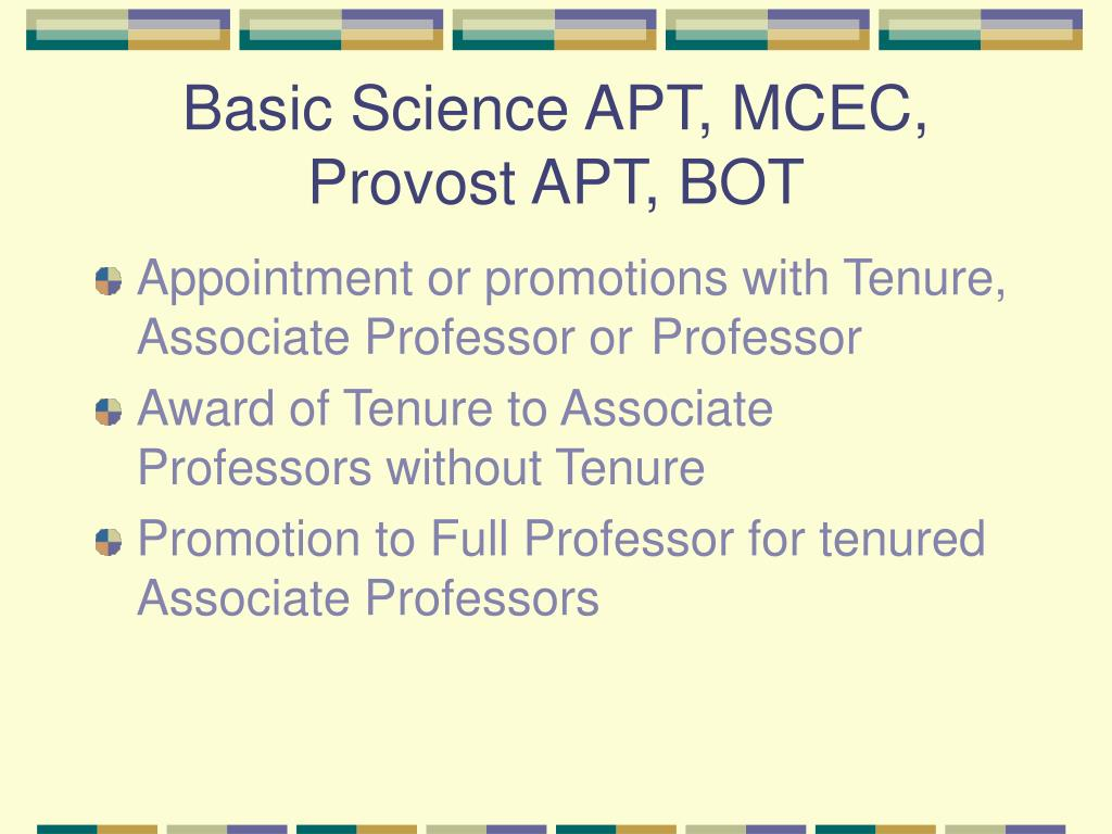 Basic Science APT, MCEC,