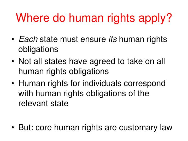relationship between ihl and human rights