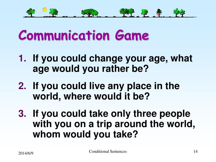 Communication Game