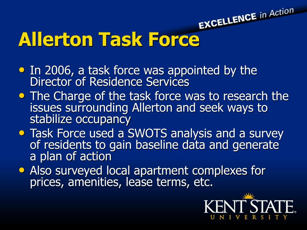 Allerton Task Force