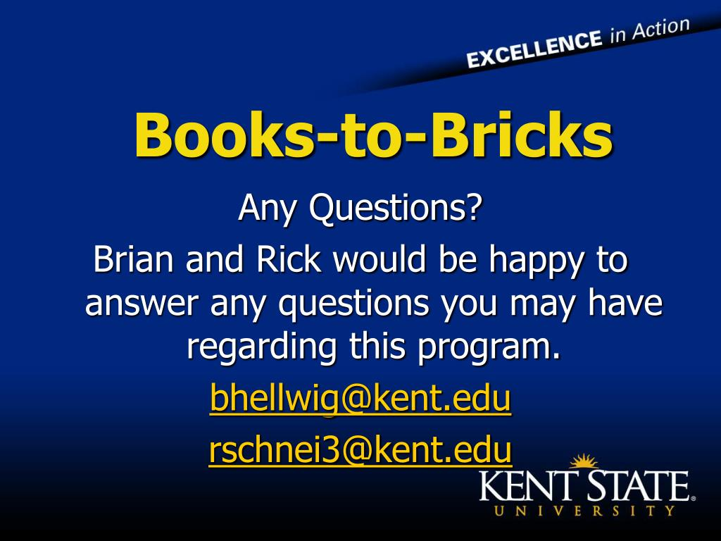 Books-to-Bricks