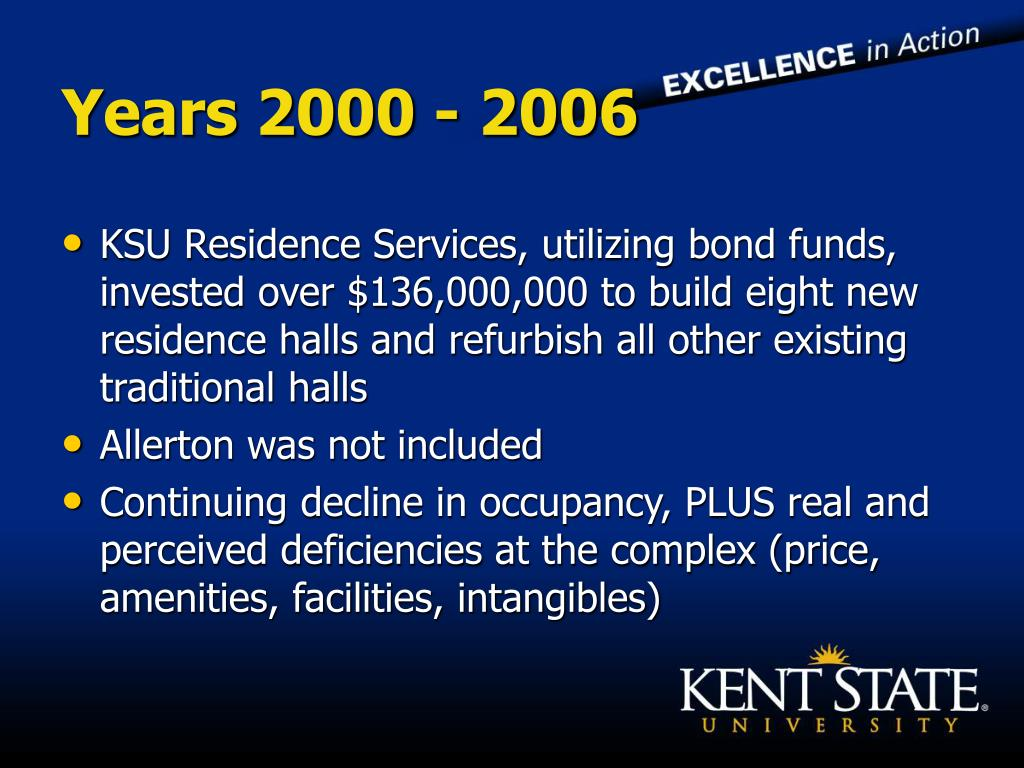 Years 2000 - 2006