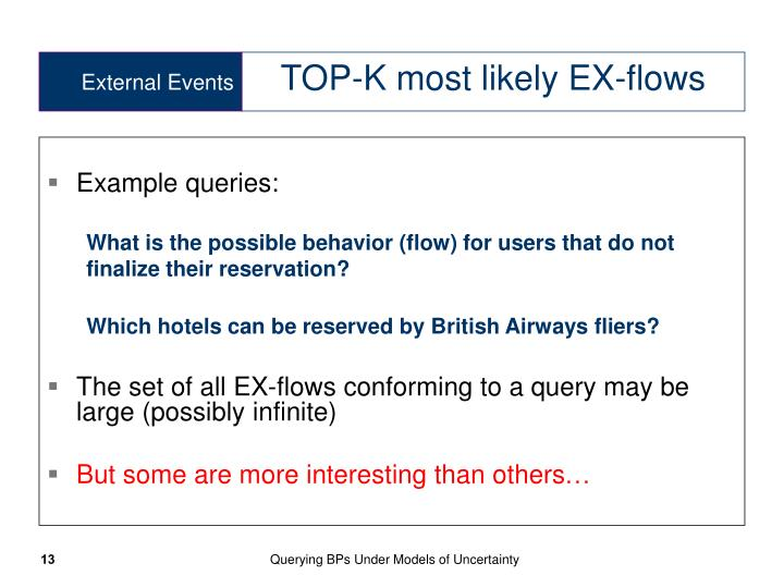 Example queries: