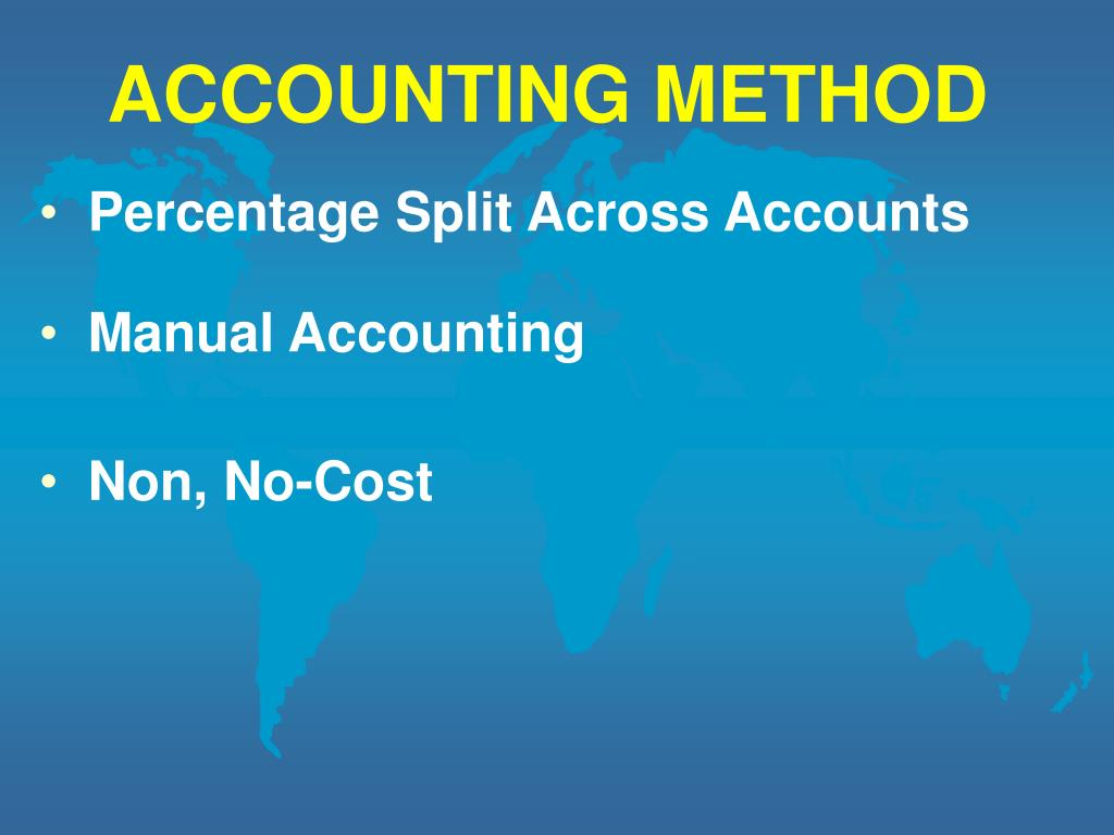 ACCOUNTING METHOD