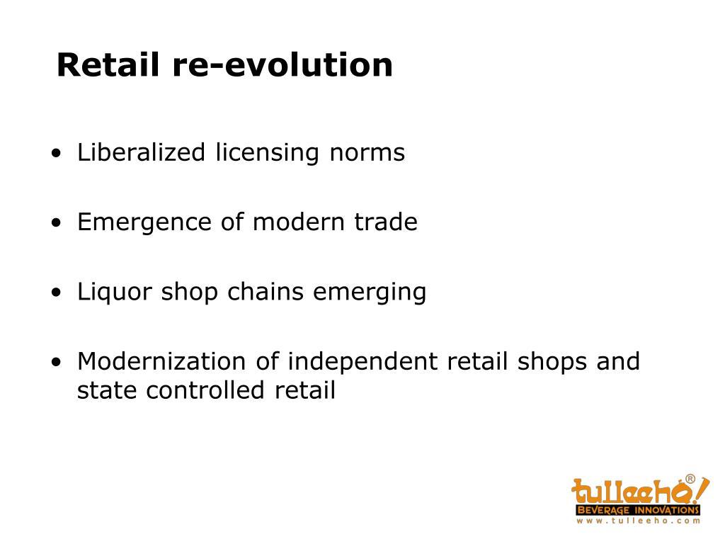 Retail re-evolution