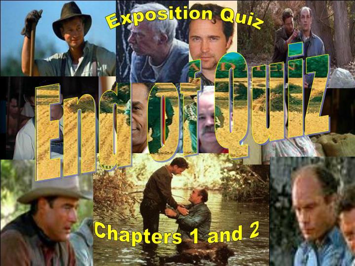 Exposition Quiz
