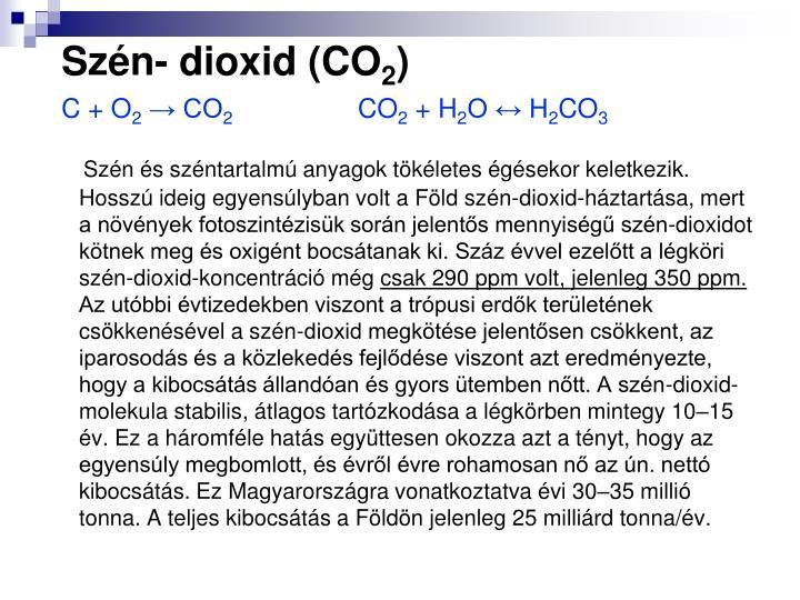 Szn- dioxid (CO