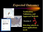 expected outcomes40