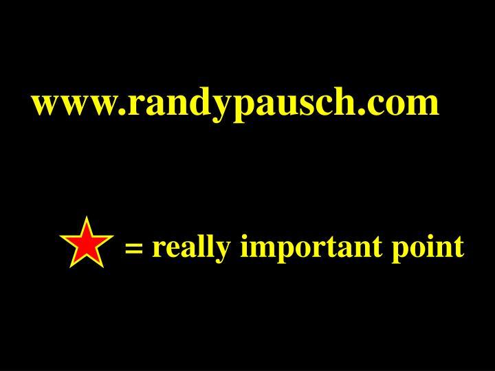 www.randypausch.com