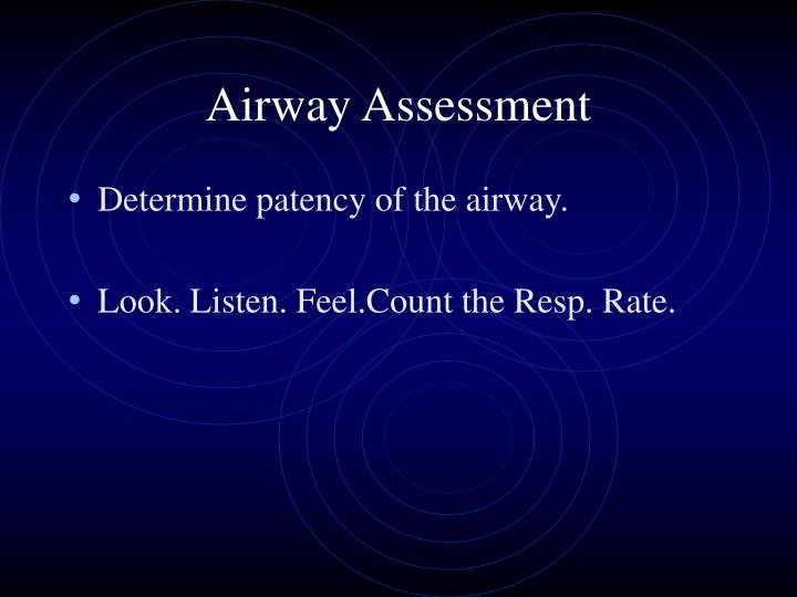 Airway Assessment