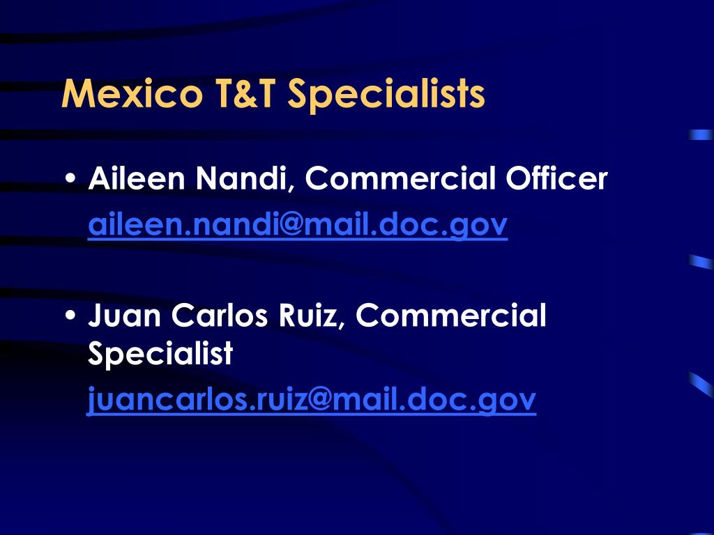 Mexico T&T Specialists