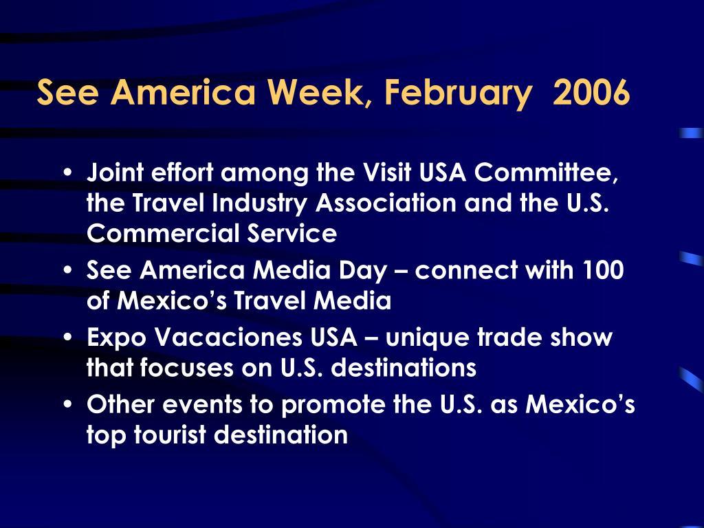 See America Week, February  2006