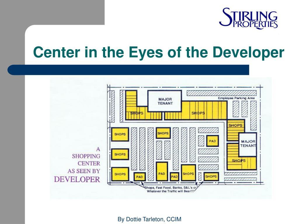 Center in the Eyes of the Developer