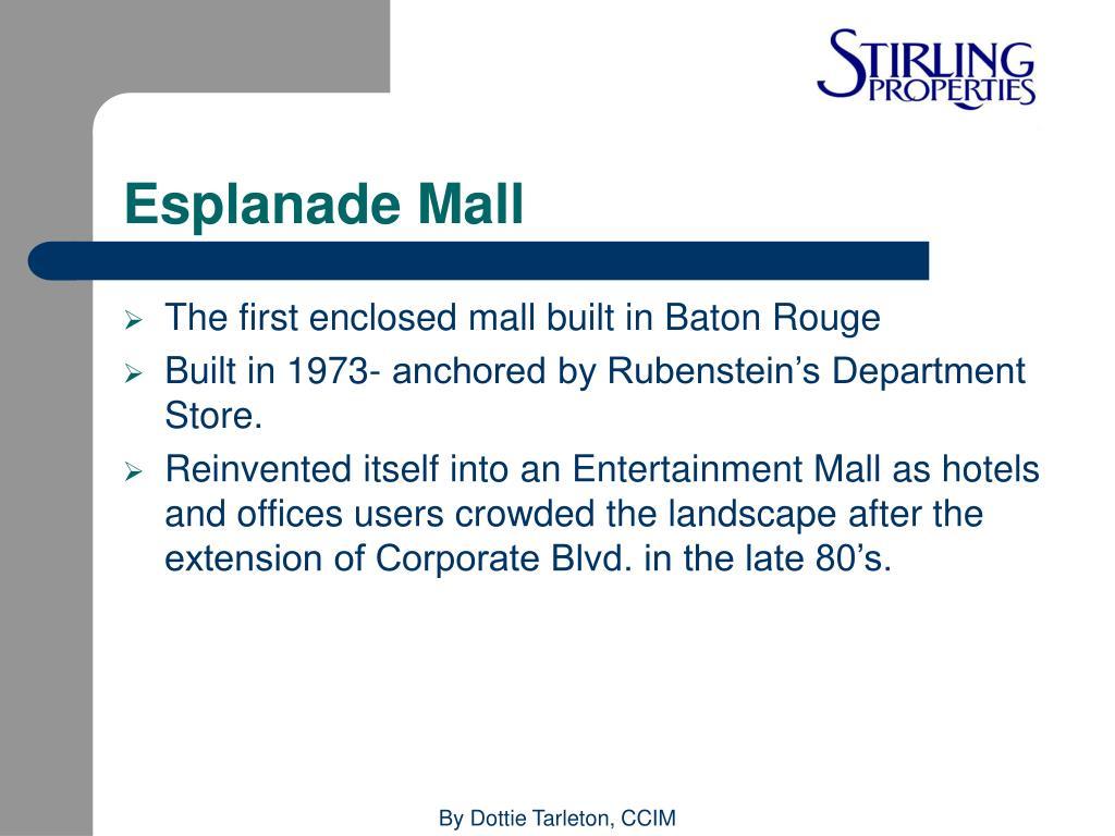 Esplanade Mall