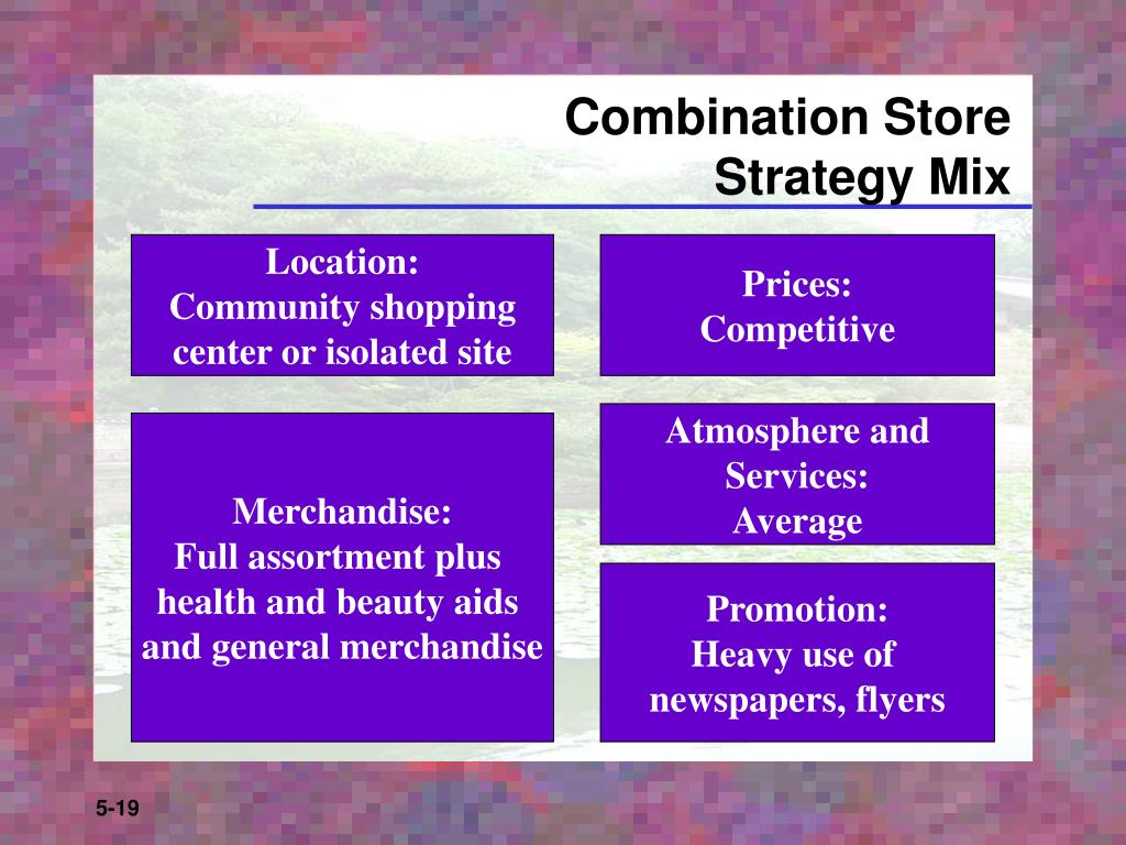 Combination Store