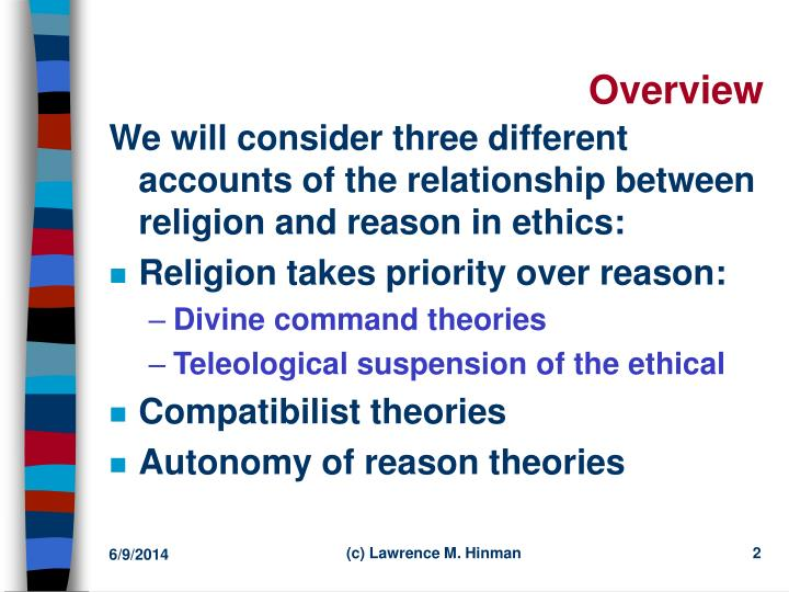 an overview of the relationship between religion and government 5 days ago  the principles governing the relationship between state and church  overview  of legally recognized churches and religious communities in.