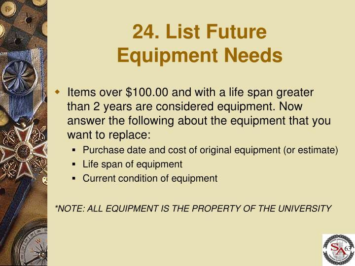 24. List Future