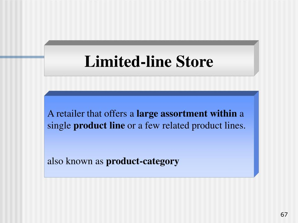 Limited-line Store