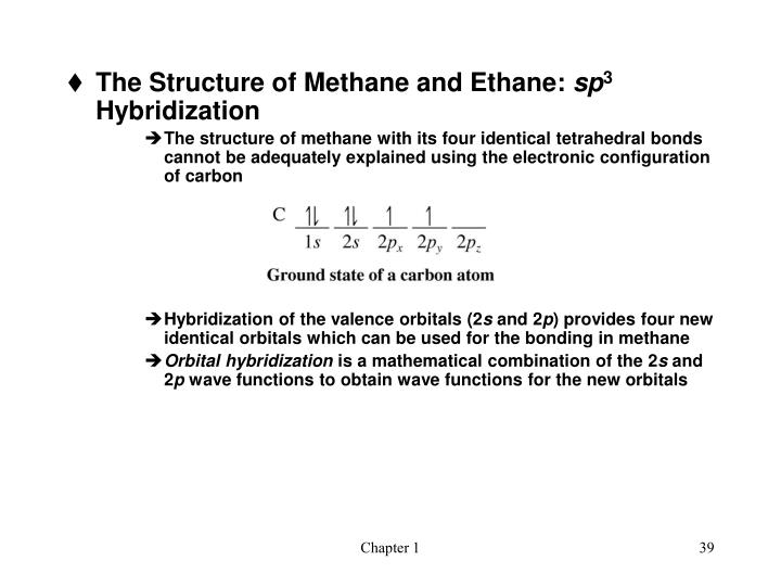 The Structure of Methane and Ethane: